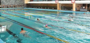 Changgwang Health Complex Swimming Competition
