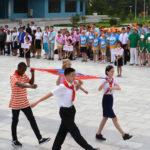 31st batch of campers Songdowon International Children's Camp