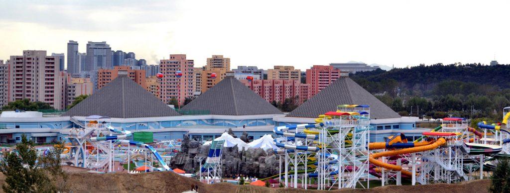 Munsu Water Park, Pyongyang