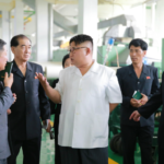 Kim Jong Un Provides Field Guidance to Phyongsong Synthetic Leather Factory