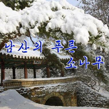 Green Pine on Nam Hill «남산의 푸른 소나무» - cover