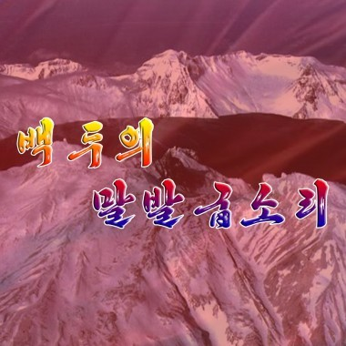 Sound of Horse Hooves in Mt. Paektu «백두의 말발굽소리» - cover