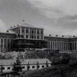 Construction site of the Kim Il Sung University