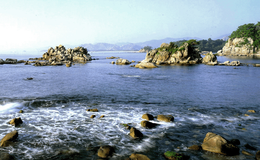 Beautiful Scenery of the Kumgang Sea