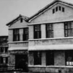 Kim Il Sung University building when it was established in October 1946