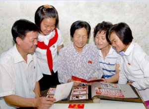 Pak Yong Chan and his family.