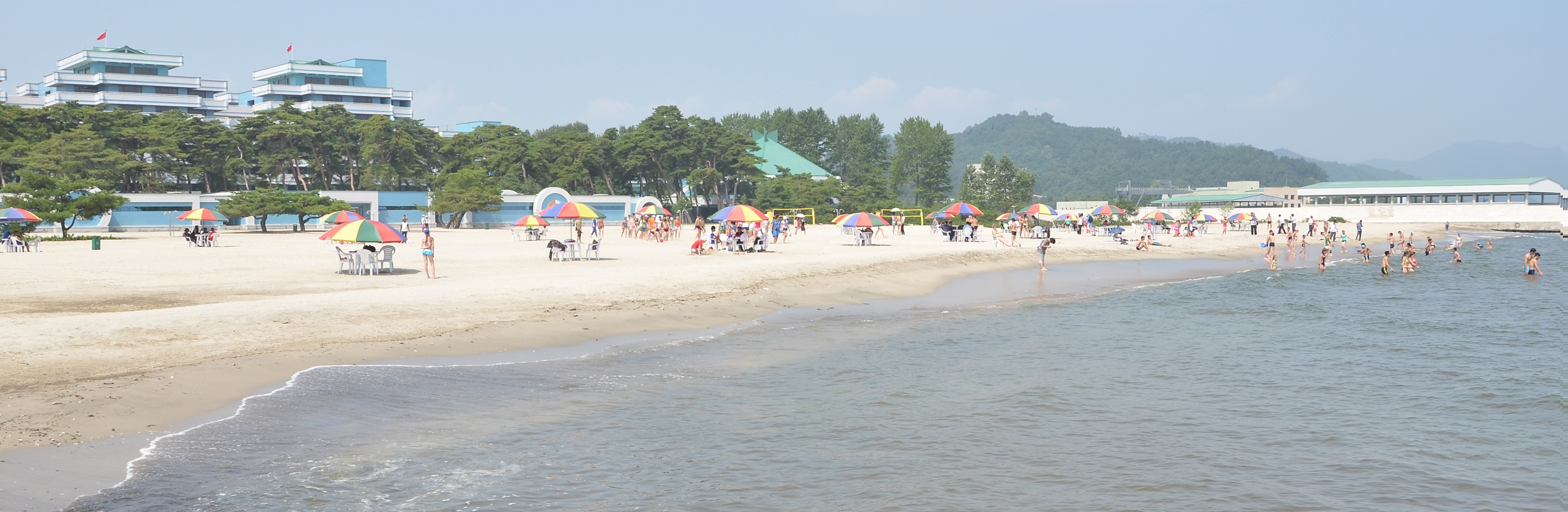 Songdowon Int'l Children's Camp beach
