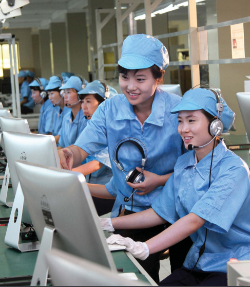 At the Phurunhaneul Corporation - With pride in producing high-quality goods.