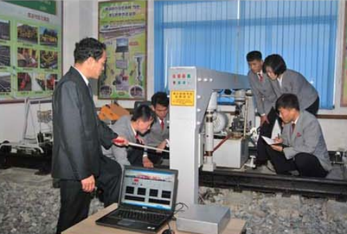 The changes-in-rail measurement laboratory.