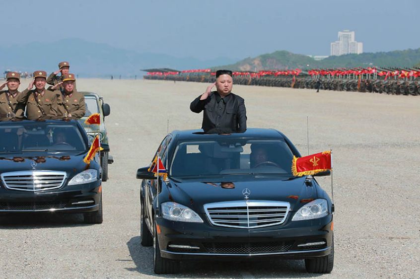 Image result for kim jong un Mercedes
