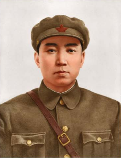 Kim Il Sung in the days of founding the Anti-Japanese People's Guerrilla Army (AJPGA)