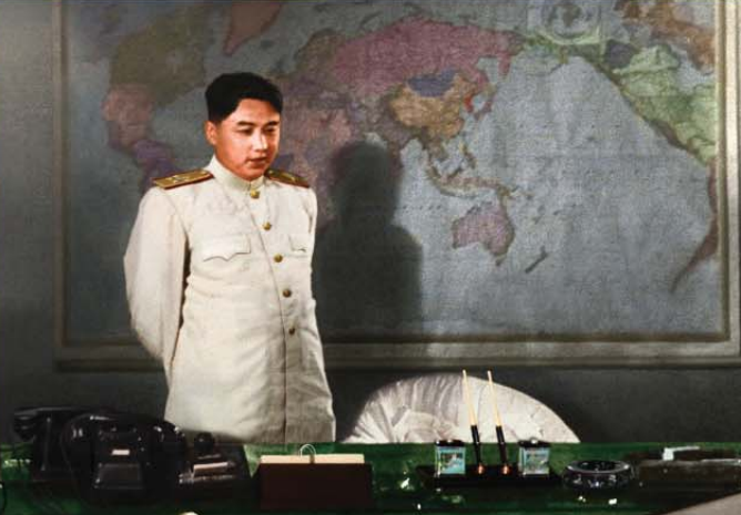 Kim Il Sung, brilliant commander who led the Fatherland Liberation War to victory [July Juche 42 (1953)].