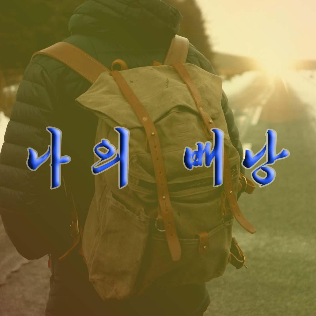 My Backpack «나의 배낭» - cover