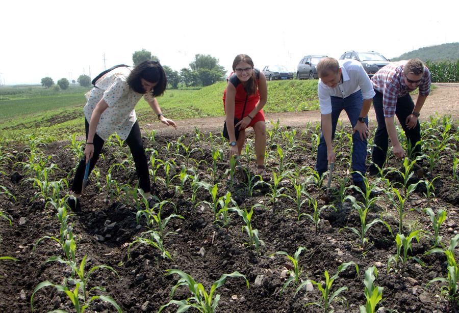 Polish Embassy Officials Help Korean Farmers Explore Dprk