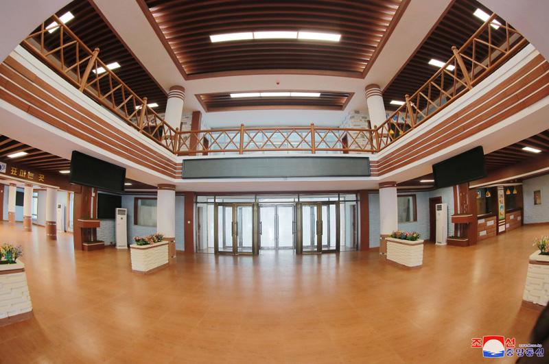- Samjiyon Youth Railway Station -
