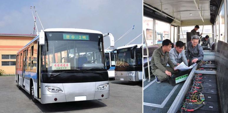 Efforts are made to produce battery buses