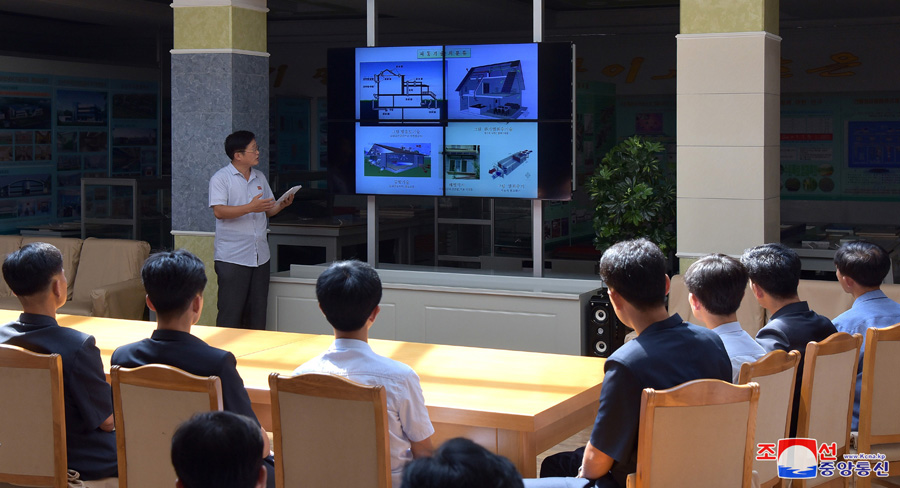 Sci-tech Presentation in Field of Green Architecture