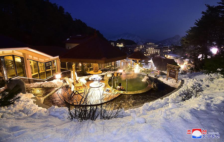 Yangdok Hot Spring Resort in DPRK